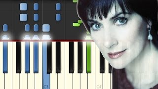 Enya / Only Time / Piano Tutorial / Synthesia / Midi & Notas