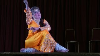 Saima Khan stage dance at Comedy Dangal Show by JR Entertainment UK