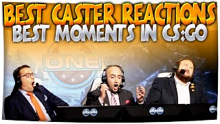 CS:GO - BEST CASTER REACTIONS! Best CS Moments ft. Anders, Semmler & More