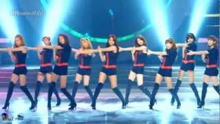Girl's Generation - Hoot mirrored Dance Fancam [eng sub]