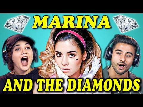 Xxx Mp4 COLLEGE KIDS REACT TO MARINA AND THE DIAMONDS 3gp Sex