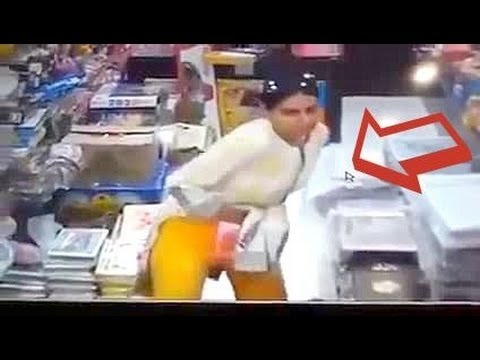 Girl Caught Stealing | CCTV Leaked Video | Must watch....