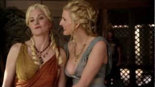 Spartacus Ep 5 #2 - Ilithyia e Lucrezia confabulano su uomini e figli