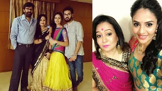 Anchor Srimukhi Family Rare and Unseen Images : Srimukhi Family Photos