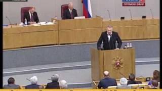 Жириновский - надеждин, передача к барьеру!