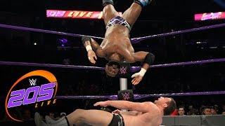 Cedric Alexander vs. Drew Gulak: WWE 205 Live, Jan. 17, 2017