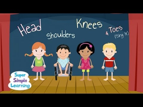 Head Shoulders Knees & Toes Sing It