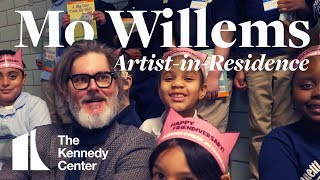 Mo Willems: The Kennedy Center's first Education Artist-in-Residence