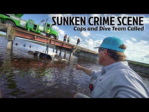 Found Sunken Crime Scene While Fishing Cops Called