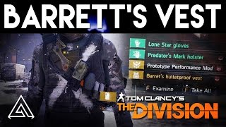 The Division | Barrett's Bulletproof Vest Review & How to Get It!
