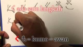 Belajar Bahasa Jepang #2 huruf hiragana A sampai KO