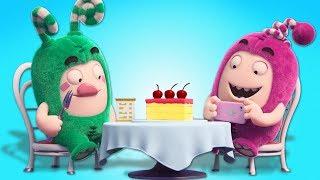 Oddbods | Foodstagram | Funny Cartoon Show | Oddbods & Friends