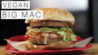 Vegan Recipe: Vegan Vegetarian Big Mac   Edgy Veg