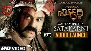Audio Launch: Gautamiputra Satakarni   Balakrishna, Shriya Saran   T-Series