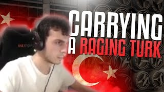 A RAGING TURK! CS:GO RANK S