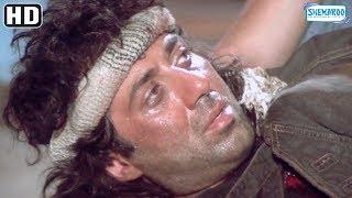 Climax Scene 'Jeet ' (HD ) -  Sunny Deol, Salman Khan, Karisma Kapoor - Superhit Bollywood Movie