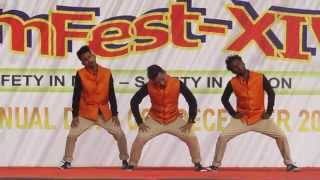 aankh mare wo ladka ankh mare | Conquest Dance Crew | worlds of wonder noida sec 18