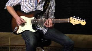 10 for 15 American Deluxe Mahogany Strat HSS Demo
