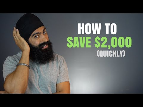 How To Save 2 000 Fast Without Making More Money