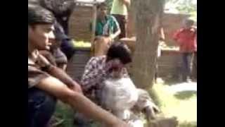' Rajib kana'The blind singer from Rajshahi-Nam amar Rajib kana, bari tanor thana bai..