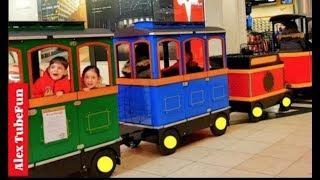 Ride on Train Wagon Fun For Kids - Alex TubeFun