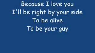 Because i love you-Stevie B lyrics (For my lovely lady)