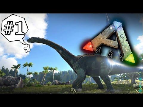 Ark Survival Evolved 1 คนบ้าบุกป่าไดโนเสาร์ Ft.OpzTv อัพใหม่