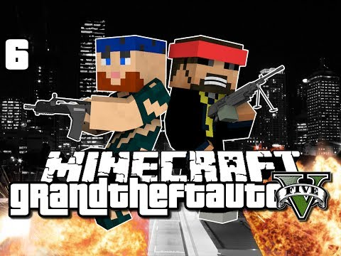 Minecraft Grand Theft Auto Mod 6 A NEW PLACE GTA 5