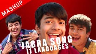 Mashup Jabra Song 11 Languages | tribute to SRK  |    Karan Thakur | Indore
