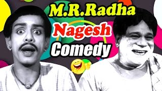 MR Radha & Nagesh Comedy Scenes   Naanum Oru Penn Tamil Movie   SS Rajendran   Vijayakumari