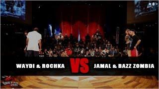 Waydi & Rochka VS Bazz Zombia & Jamal | step1(clash) - GS FUSION CONCEPT WORLD FINAL | HKEYFILMS
