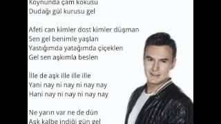 Mustafa Ceceli  İlle de Aşk  Şarkı Sözü
