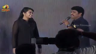 Rajasekhar Daughter Live Performance | Gaddam Gang Audio Launch | Sheena | Achu