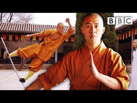 The extraordinary final test to become a Shaolin Master Sacred Wonders BBC