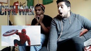Marvel's Captain America: Civil War - Trailer 2 REACTION!!! (SPIDER-MAN HYPE)
