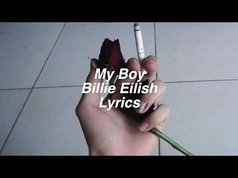 My Boy Billie Eilish Lyrics