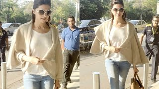 Deepika Padukone Hot Airport Look