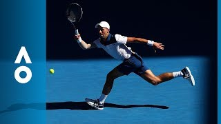 Novak Djokovic v Donald Young match highlights (1R) | Australian Open 2018