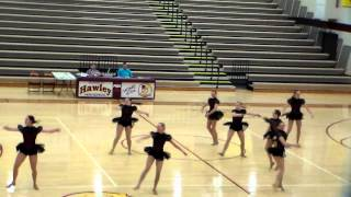 Frazee Fly Girls 2014 Hawley Competition