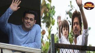 Fans Flock Shahrukh Khan & Salman Khan