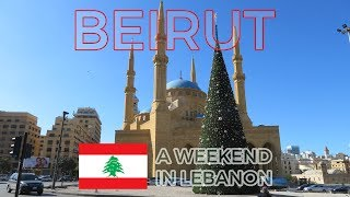 Walking around Beirut, Lebanon 2018 | Tourist sights and attractions