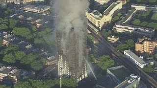 Number of confirmed victims rises in London tower block fire