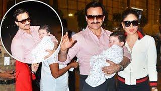 Kareena Kapoor's Baby Taimur Ali Khan's FIRST International Holiday With Family