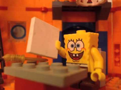 lego spongebob PROCRASTINATION