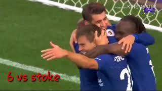Alvaro morata all 16 goals for Chelsea