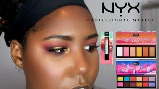 NYX SUGAR TRIP SQUAD HOLIDAY COLLECTION| TESTING STUFF YOUR FAVORITE BEAUTY GURU WON