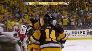 Kunitz opens scoring for Penguins in Game 7