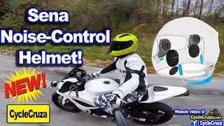 Sena Noise Control Helmet! No More Ear Plugs!!! | MotoVlog