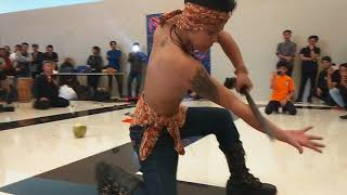 Seni Reak Pandawa 5 feat Piomongeun di mall UBERTOS