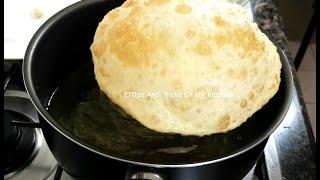 Bhatura Recipe In Hindi | Delhi Chole Bhature Recipe | Bhature Banane Ka Tarika | Bhatura Dough